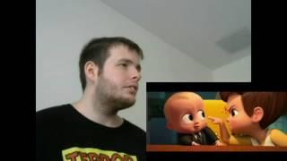 The Boss Baby Official Trailer Teaser Reaction