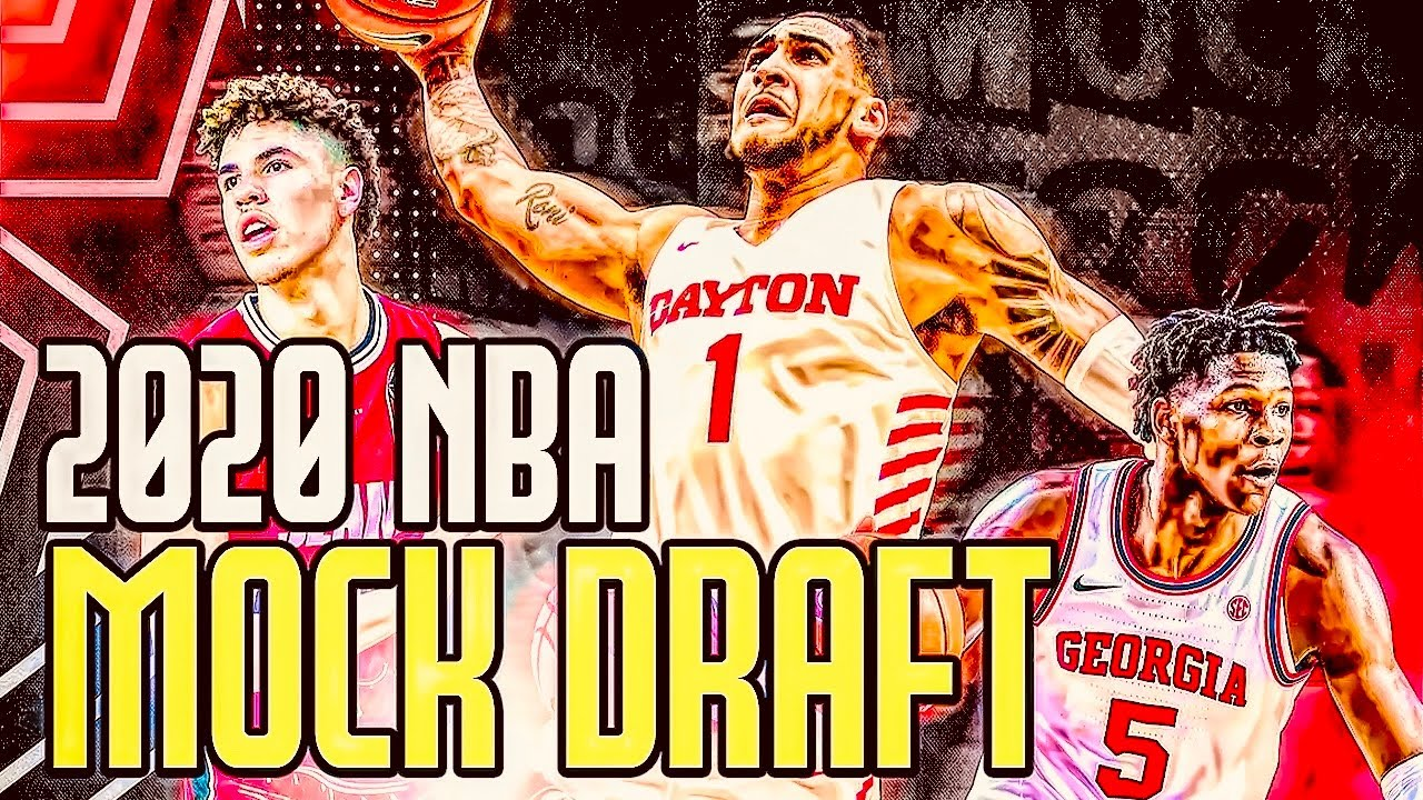 THIS 2020 NBA MOCK DRAFT WILL MAKE YOU ANGRY?!?!