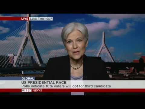 Self-important BBC interviewer crushed by Jill Stein, US Green Party candidate for President