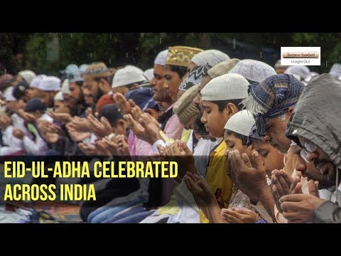 Eid-ul-Adha Celebrated across