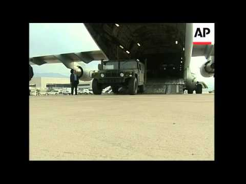 US delivers first instalment of its military aid to Lebanon