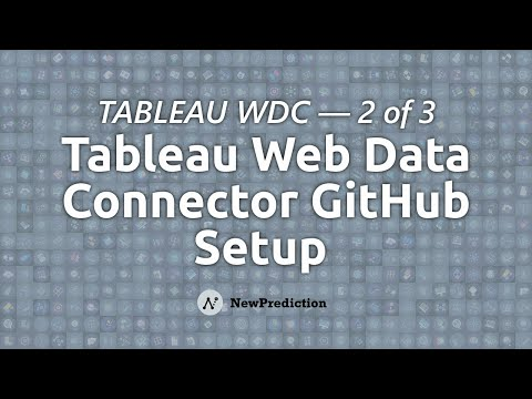 Tableau Web Data Connectors: Getting Started