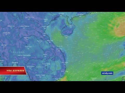 Ứng dụng thời tiết xóa Tam Sa khỏi Biển Đông theo yêu cầu của Việt Nam (VOA)