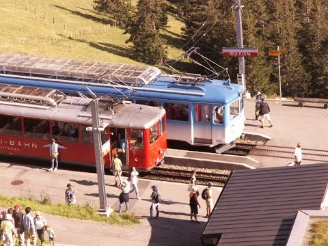 2016 08 04 Suisse VRB - Vitznau Rigi Bahn_ Funiculaire de Seelisberg