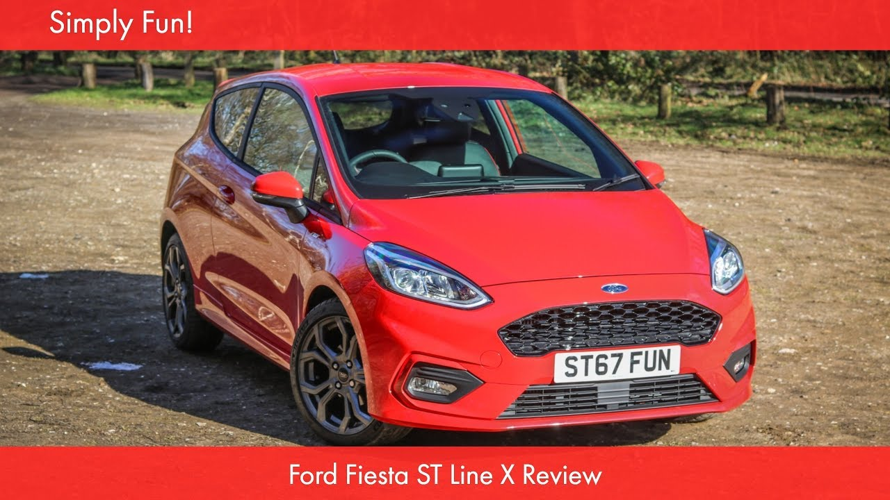 ford fiesta st line x review youtube. Black Bedroom Furniture Sets. Home Design Ideas