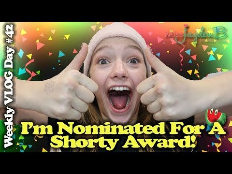 I'M NOMINATED FOR A SHORTY AWARD?!?! Vlog Day #42 || Jayden Bartels