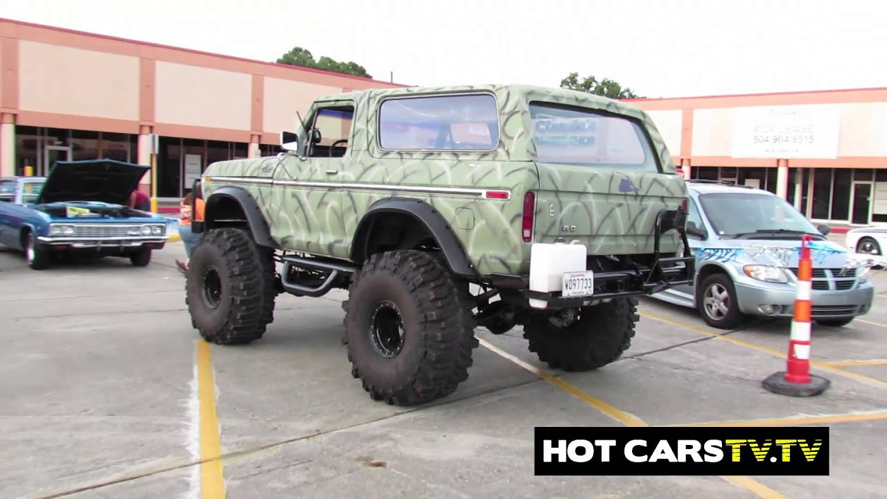 HOTCARSTV: Mac Customs C10s, Lifted Ford Bronco, Hotrods ...