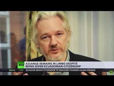 Limbo on Earth: Assange's fate still unclear despite taking out Ecuadorian citizenship