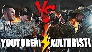 Kulturisti VS Youtubeři / Paintball - Anabolic Engineers #7
