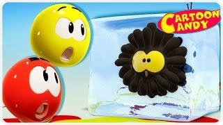 WonderBalls | Ice Painting | Funny Cartoon For Children | Cartoon Candy