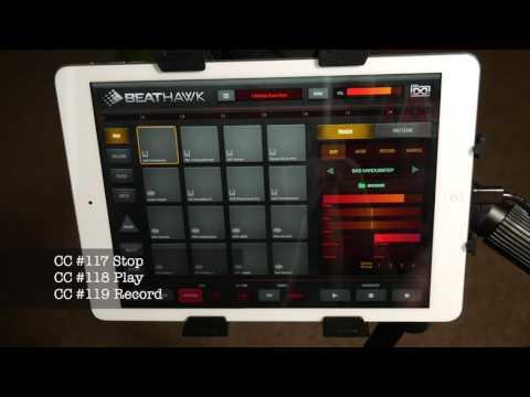 TheAudioDabbler   BeatHawk QuickTip Transport Controls