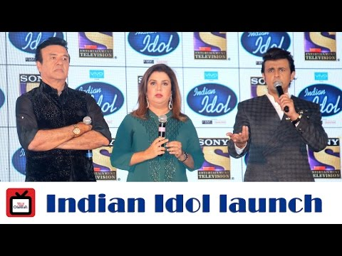 Launch of Indian Idol | Sony Entertainment Television | Farah Khan | Sonu Nigam | Anu Malik
