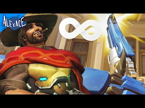 WHAT IS OVERWATCH LIKE WITH UNLIMITED AMMO!? l OVERWATCH CUSTOM GAMES!