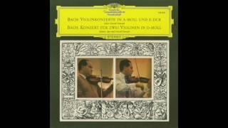 Silent Tone Record/バッハ:ヴァイオリン協奏曲/ダヴィッド・オイストラフ、イーゴリ・オイストラフ、ユージン・グーセンス指揮ロイヤル・フィルハーモニー管弦楽団