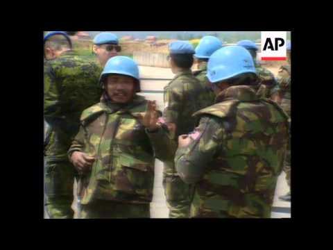 Bosnia - Malaysian Observer Killed By Mortar
