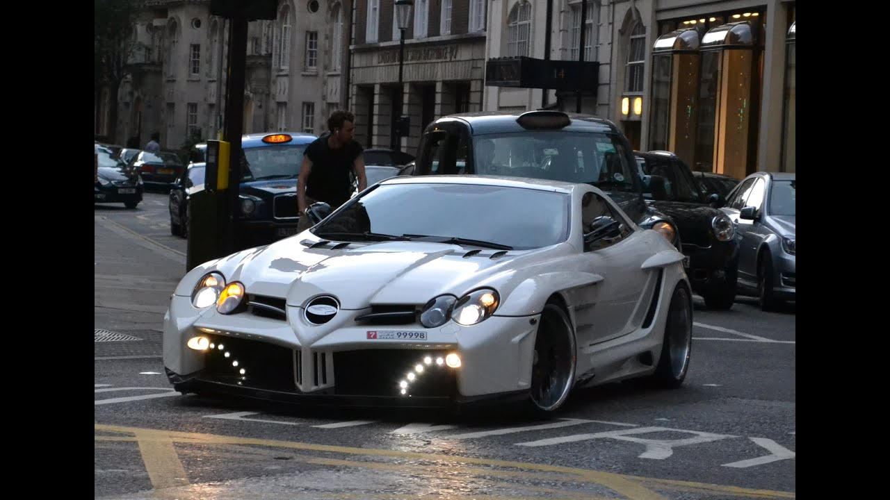 mercedes benz slr mclaren fab design in london youtube. Cars Review. Best American Auto & Cars Review