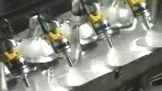 Двигатель Рено на стенде