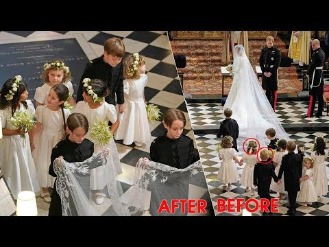 The reason why George & Charlotte suddenly disappeared after the royal wedding ceremony