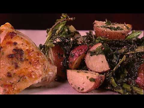 Garlic Parmesan Ranch Chicken With Potatoes Recipe | The Chew