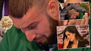بطل الجزائر لذوي الاحتياجات الخاصة يجهش بالبكاء بعد سؤال مقدمة البرنامج عن مسكنه