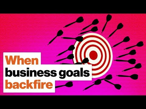 When business goals backfire: How to adjust to unintended consequences