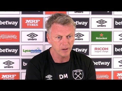 David Moyes Full Pre-Match Press Conference - West Ham v Manchester United - Premier League