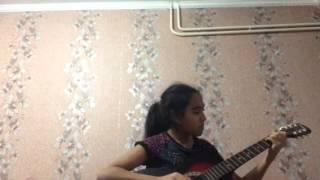 Игра на гитаре К Элизе