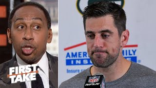 Aaron Rodgers being neutralized by the Chargers concerns Stephen A. | First Take