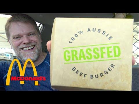 McDonalds Grass Fed Beef Burger Review