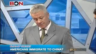 Americans Immigrate To China