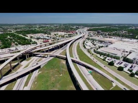 North East Mall Area Flyover 6May16 - Hurst Texas - Phantom 4