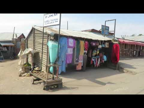 Driving Through Ilakaka, Madagascar