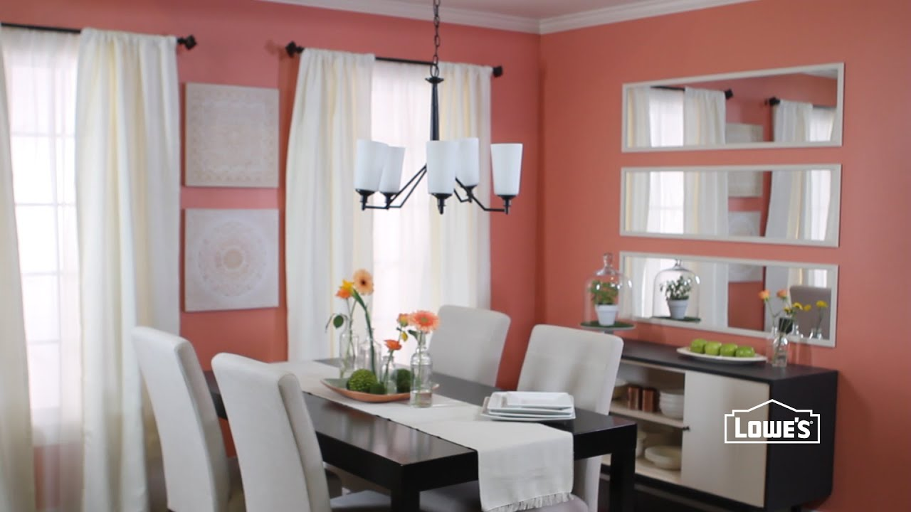 Dining Room Decorating Ideas For Less. Loweu0027s Home Improvement