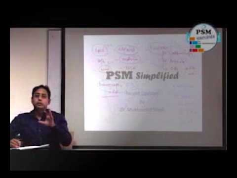 How to Prepare PSM for PG Entrance exams   by Dr Mukhmohit