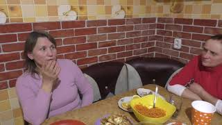 Женю положили в больницу/У нас гости/ Разговоры о православии и сестре