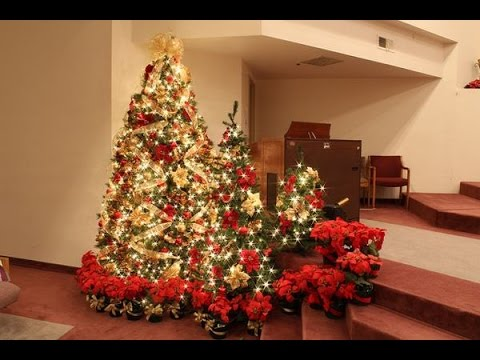 Christmas Tree Ideas Gold