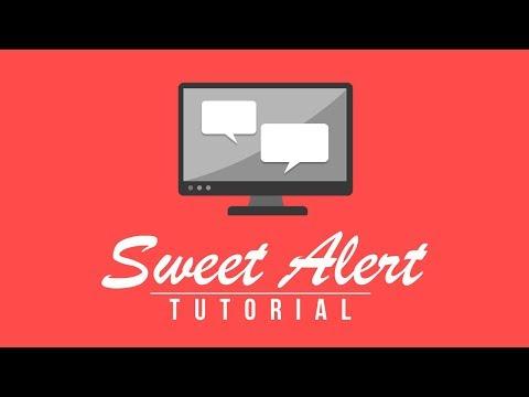 SweetAlert Tutorial - Make a Cool Javascript Popup