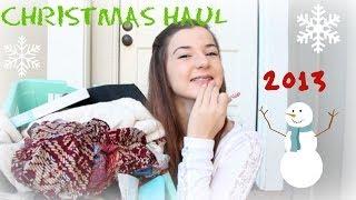 Christmas Haul 2013! Thumbnail