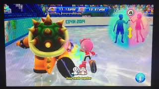 Mario & Sonic at the Sochi 2014 Olympic Winter Games Figure Skating Pairs 282