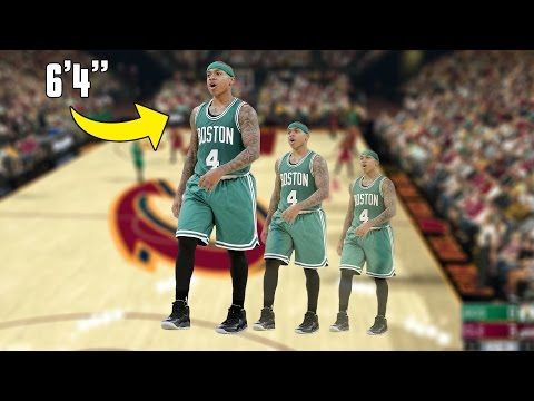 "WHAT IF ISAIAH THOMAS WAS 6'4""? NBA 2K17 GAMEPLAY!"