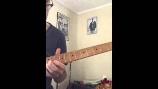 Bill Frisell solo transcription Hackensack from Lookout for Hope ECM
