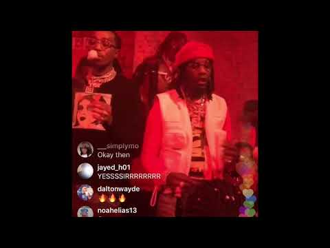 Offset Father Of 4 Album Release Party ( Cardi B, Quavo, Takeoff, QC the Label) LIVE!!