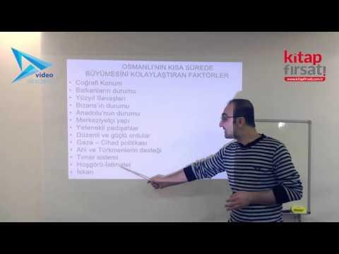 6) Osmanlı Devleti Beylikten Devlete Geçiş / Kuruluş Dönemi - Hamza TATAR (2016)