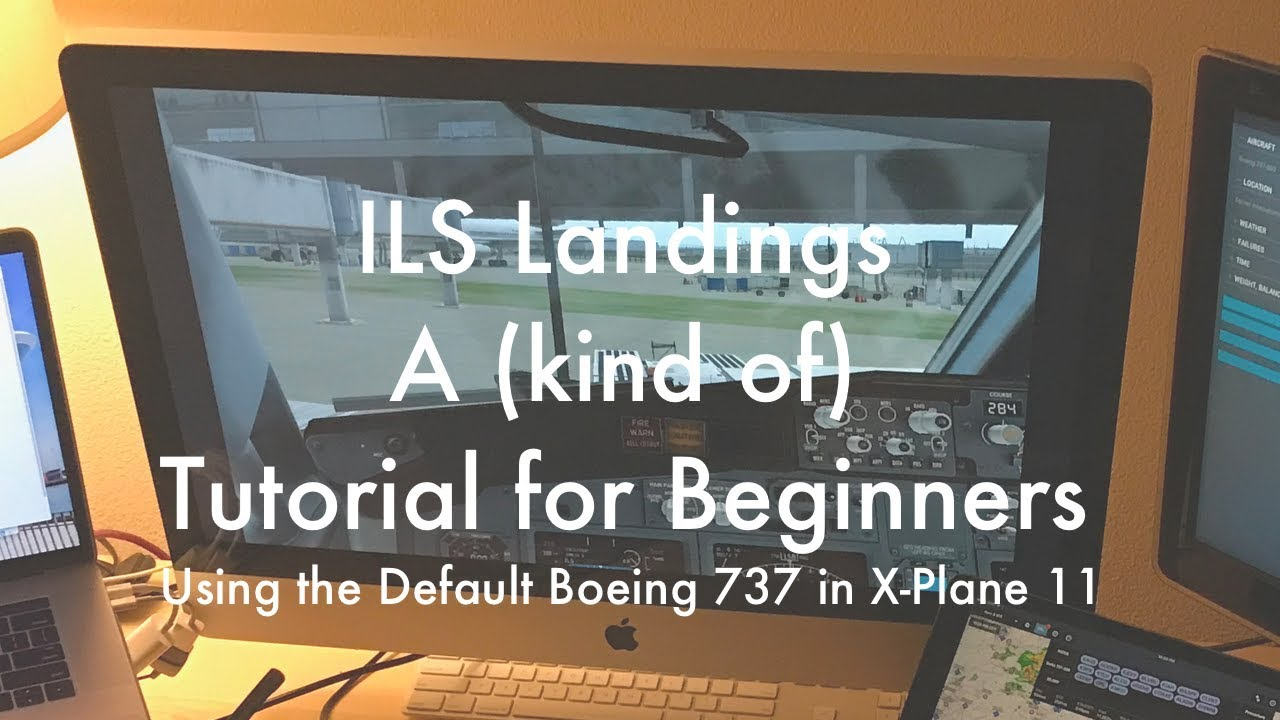 x plane 11 beginner guide to ils landing and the fmc using the rh youtube com boeing 737 fmc user's guide Boeing 737 Drawing
