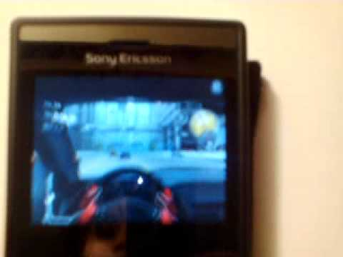 Sony Ericsson Aspen - Need For Speed Shift & The Sims 3