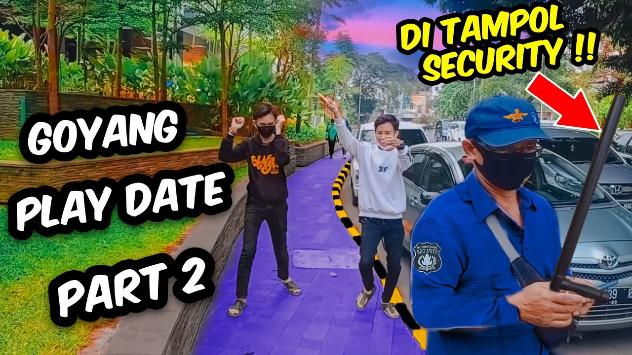 GOYANG TIKTOK PLAY DATE PARA COGAN !!! PART 2 BIKIN MELELEH | PRANK INDONESIA