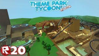Roblox - Episodio 20 Parque Temático Tycoon 2 - Phantasialand / FR