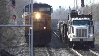 CSX Train & Peterbilt Truck