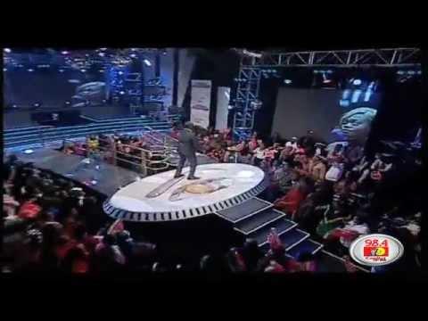 Dj Joe Mfalme At The 2012 Big Brother Africa Star Game (The Live Show).