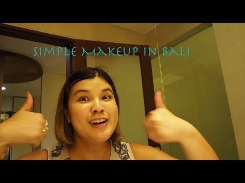 Simple Makeup look in Bali 👉🏽 CLICK ON ME 😉